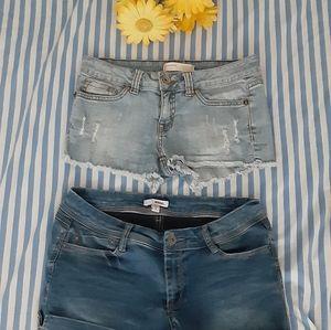 Jean shorts bundle size 5